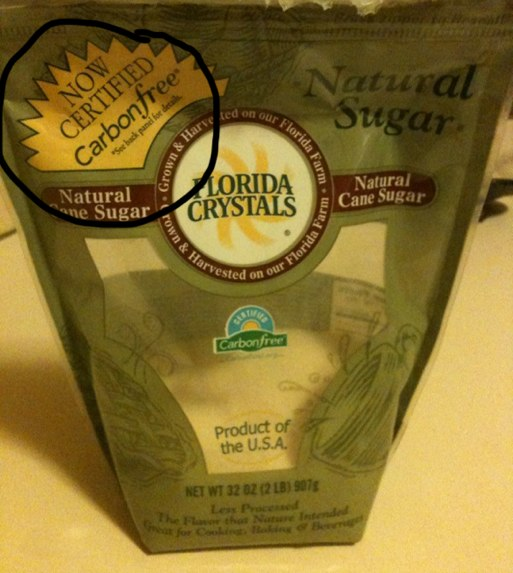 Carbon-free sugar