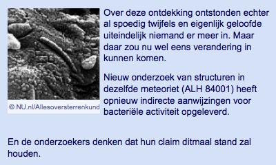 Mogelijk toch sporen van leven gevonden in Marsmeteoriet | nu.nl_wetenschap | Het laatste nieuws het eerst op nu.nl-1