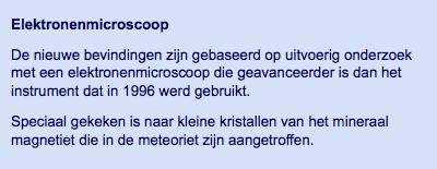 Mogelijk toch sporen van leven gevonden in Marsmeteoriet | nu.nl_wetenschap | Het laatste nieuws het eerst op nu.nl-2